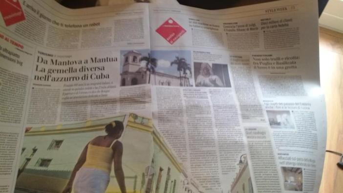 Il Giornale: reportage su Cuba made by me...