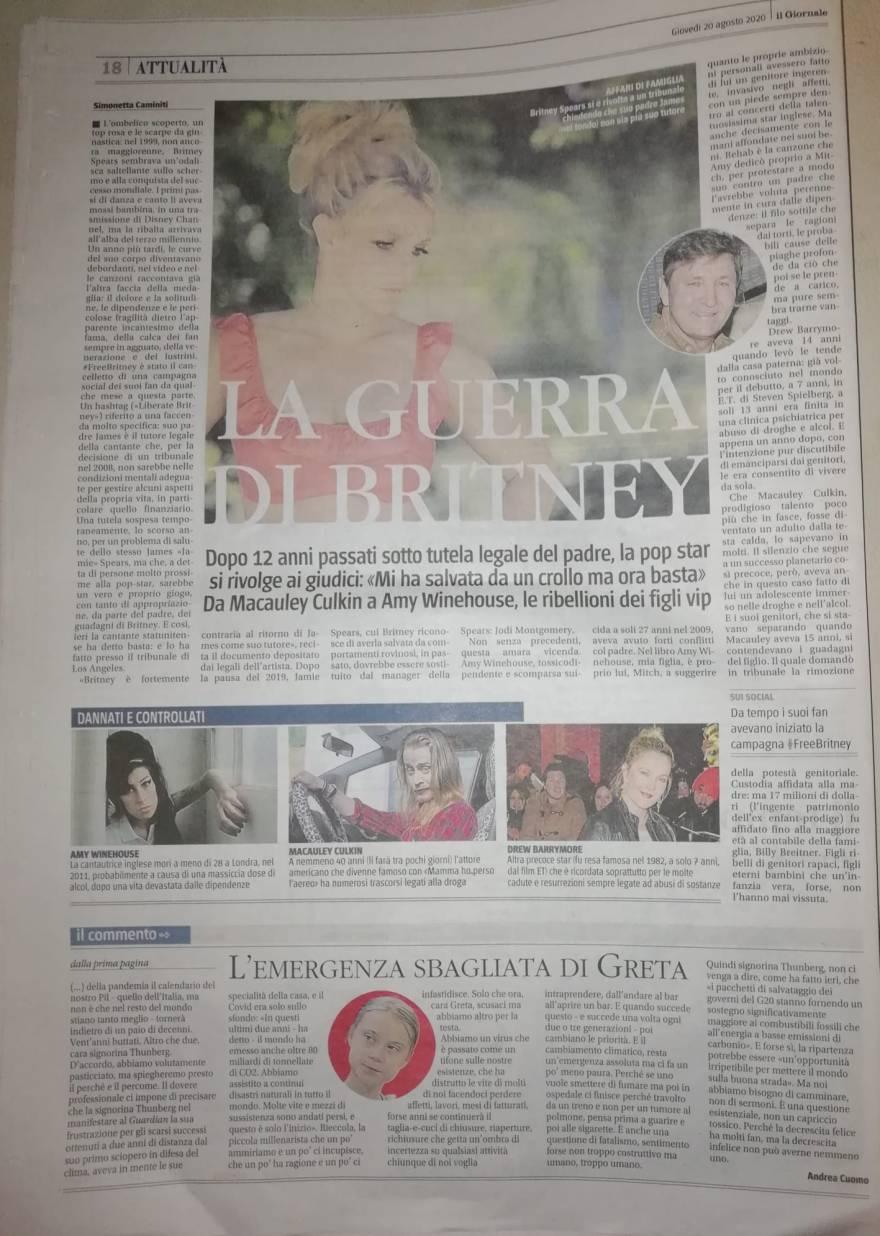 BritneyGiornale